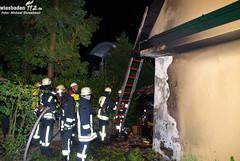 Feuer an Gebäude Sonnenberg 29.09.09