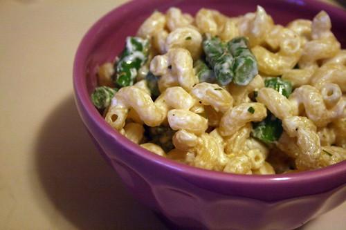 handmade52.23 asparagus, goat cheese and lemon pasta