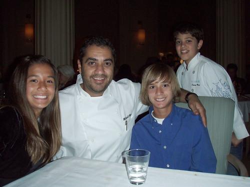 Kindal, Michael Mina, Chace, Sammy Mina at Michael Mina, MyLastBite.com