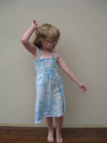 Shirred pillowcase dress by you.