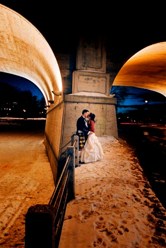 bridge wedding