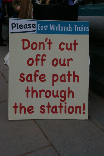 Keep Sheffield Station open to the public!!! by m.o.o.f.