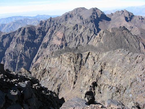 Jebel Toubkal vista