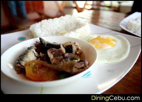 Filipino Restaurant in Cebu - Sugbo Silog: Sardines