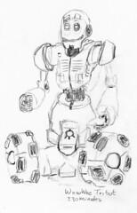 Sketching WowWee Tri-bot