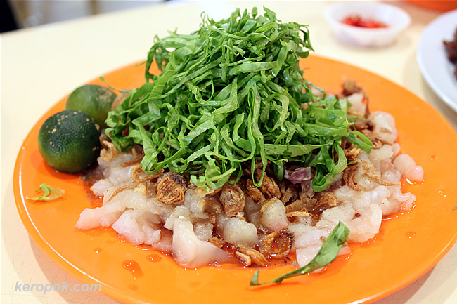 Two Persons portion of Raw Fish