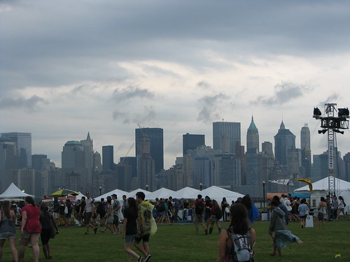 The view of New York from New Jerseys Liberty State Park; photo by Jillian Mapes