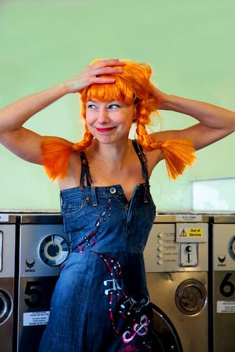 Helen At the Laundrette 5