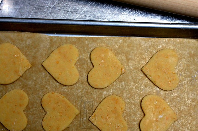 toasted coconut shortbread hearts