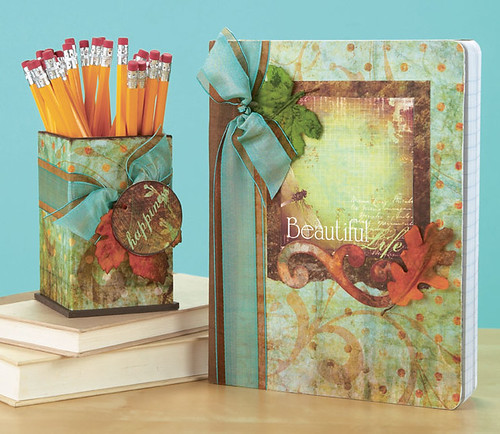 Tish Treadaway's Beautiful Life Journal & Pencil Holder