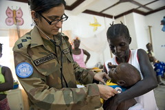 UNMIL Medical Officer Provide Health Care
