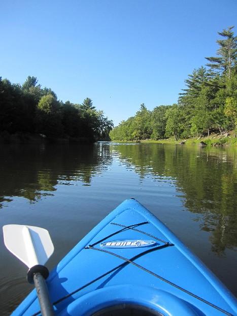 In the Kayak
