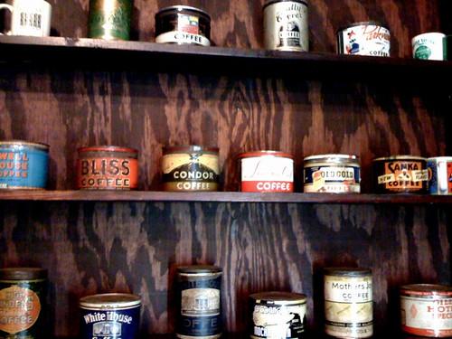 iPhone: Vintage Coffee Tins