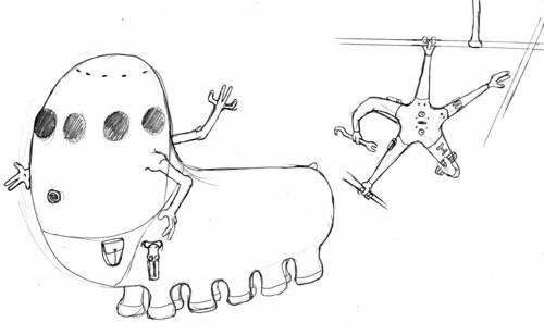 crew concept sketch