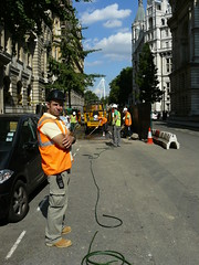 Workers in London