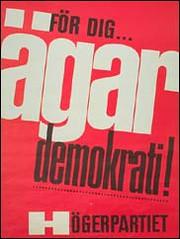 Högerns ägardemokrati-kampanj var ett sätt att omskapa demokratibegreppet
