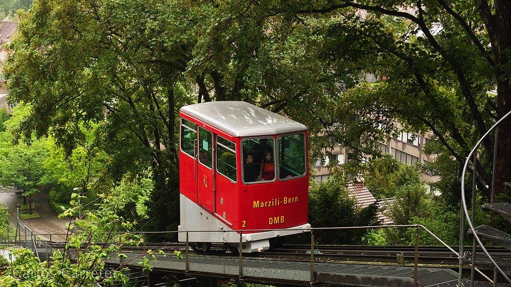 Drahtseilbahn Marzili