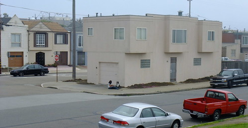 Architecture of the Outer Sunset along the Great Highway 40