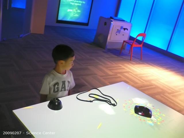 Samuel at Science Center