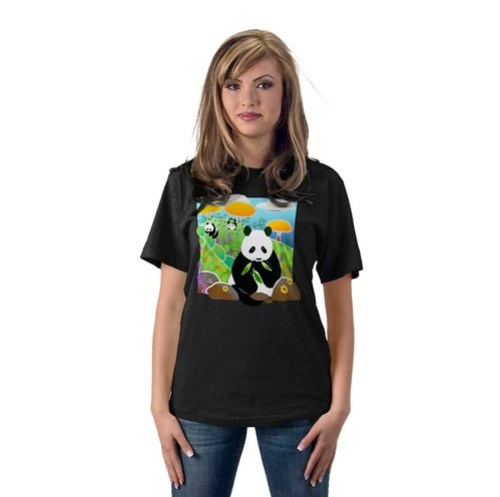 MOTHERS WORK IS NEVER DONE new panda shirt by Sandra Miller by you.