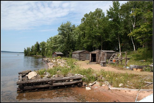 Fish Camp on Manitou Island by you.