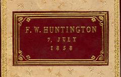 Bookplate, 1858