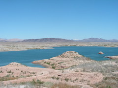 Lake Mead national recreation area outside Las...