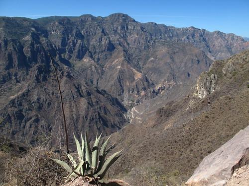 View down to La Bufa