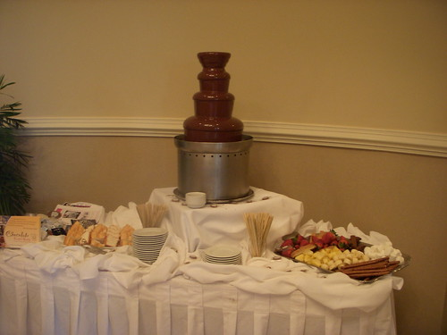 Chocolate Fountain by Chocolate Chick