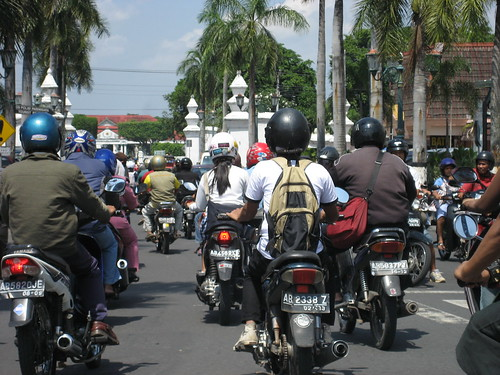 Roller in Yogya