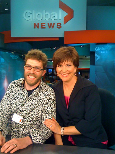 me and the nice news lady