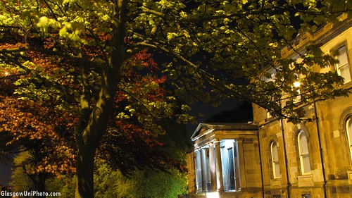 Lilybank House at Night