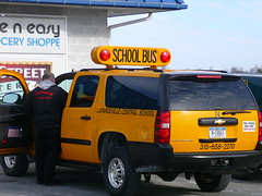New York City, School Bus, School Van, School vehicle, school bus yellow