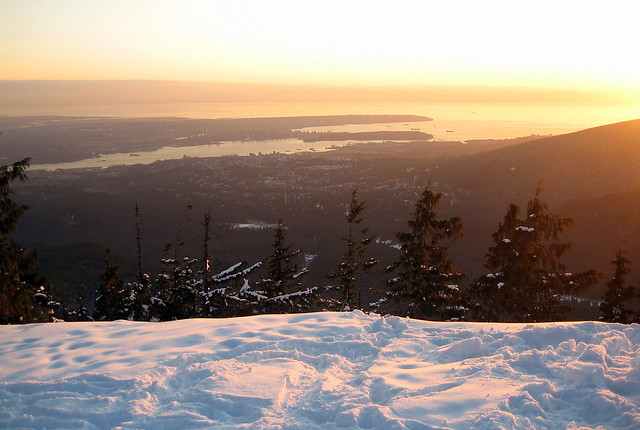 Greater Vancouver Snowshoe - Dog Mountain (1/6)