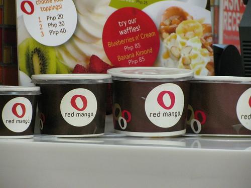 Red Mango tub sizes