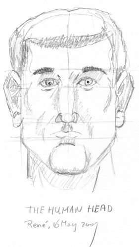 Drawing the human head, part 3