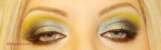 Metallic Eyeshadow Look