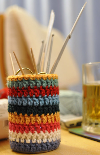 Crochet can cover