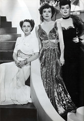 Norma Shearer, Joan Crawford and Rosalind Russ...
