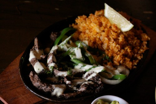 Grilled Steak Fajitas at Jalapeno