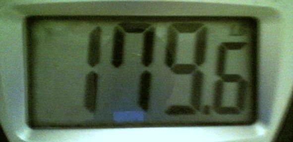 179 lbs!