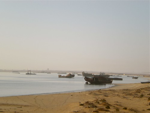 The ship graveyard, Nouadhibou