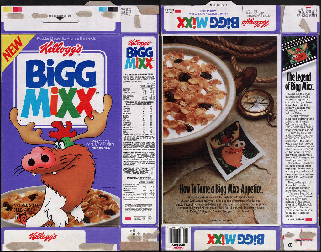 Bigg Mixx with Raisins