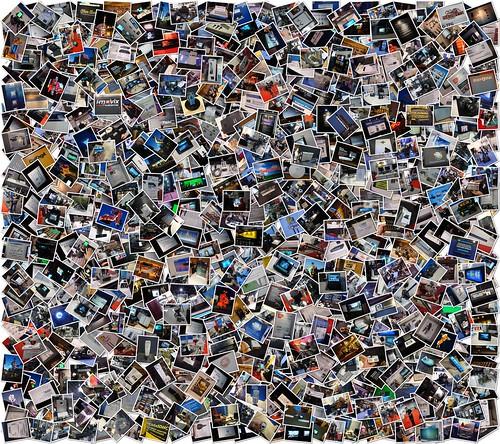 Collage Of Images Taken At NAB 2009