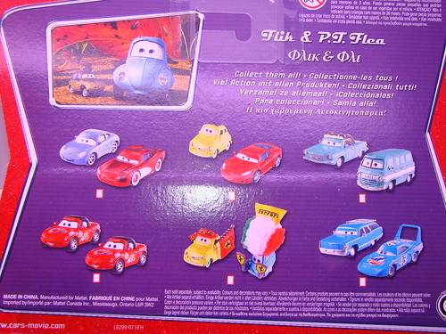 Disney international CARS pt flea and flik
