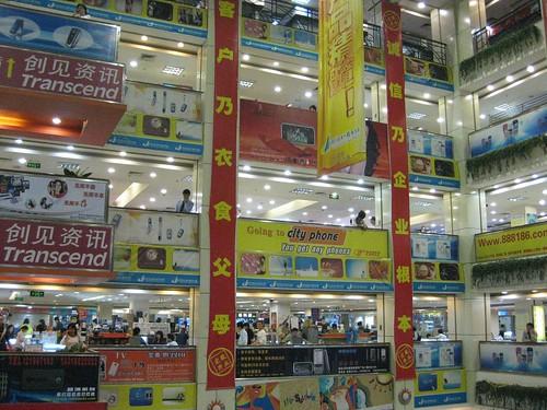 Shenzhen Electronics Market selling Mobile Phones