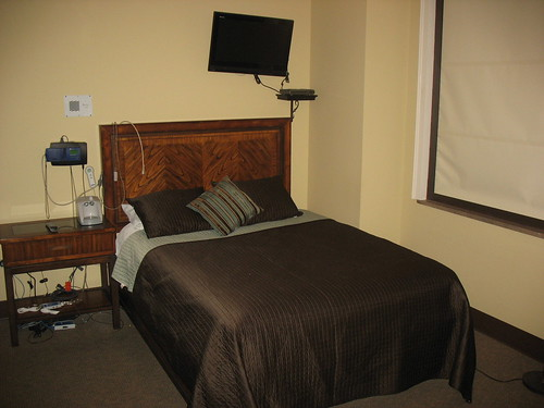 SLU Sleep Center Typical Bedroom A