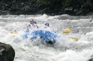 Rafting in Pucón