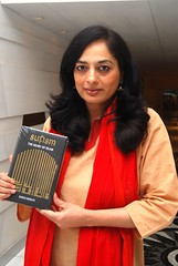 Sadia Dehlvi with book