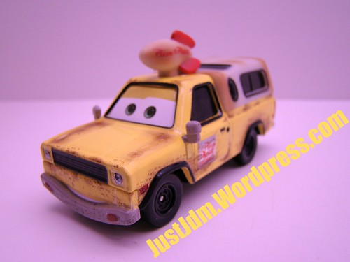 Disney CARS Pizza Planet Truck Todd
